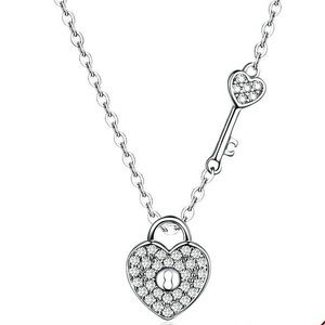 Jewelry - A. New Sterling Silver Heart Necklace